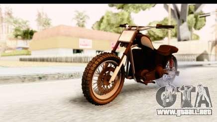 GTA 5 Western Cliffhanger Stock IVF para GTA San Andreas