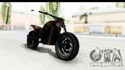 GTA 5 Western Gargoyle Custom v1 IVF para GTA San Andreas