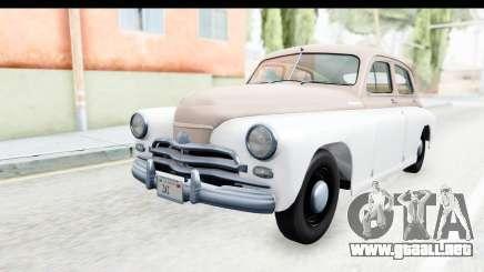 GAS М20В Victoria 1955 SA Placa para GTA San Andreas
