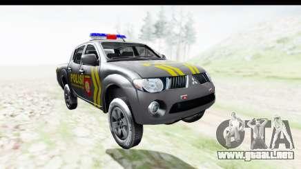 Mitsubishi L200 Indonesian Police para GTA San Andreas