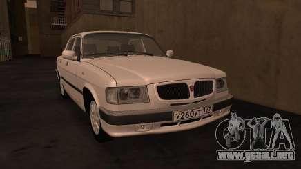 GAZ 3110 de la serie de la Zona de exclusión de Chernóbil para GTA San Andreas