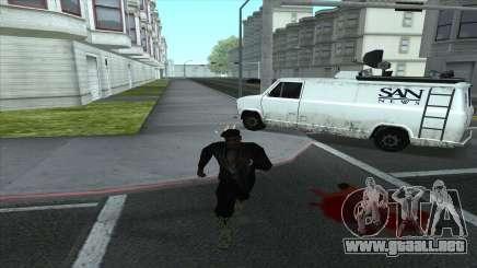 Newsvan Follow You para GTA San Andreas