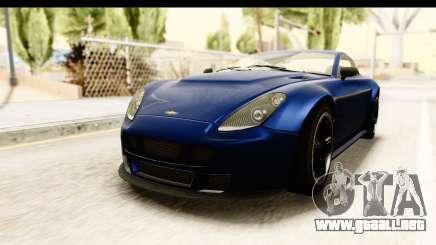 GTA 5 Dewbauchee Rapid GT para GTA San Andreas