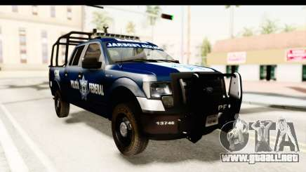 Ford F-150 Federal Police para GTA San Andreas