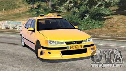 Taxi Peugeot 406 v1.0 para GTA 5