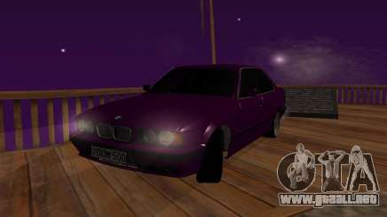 BMW 5 E34 grey para GTA San Andreas
