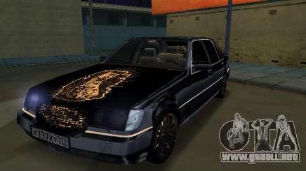 Mersedes-Benz W140 600SEL para GTA San Andreas