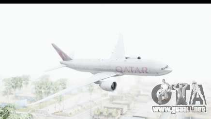 Boeing 777-200LR Qatar Airways para GTA San Andreas