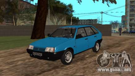 VAZ 2109 con llantas de aleación de para GTA San Andreas