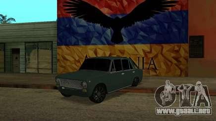 VAZ 2101 Armenian para GTA San Andreas