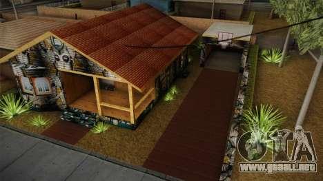 Big Smoke New Home para GTA San Andreas tercera pantalla