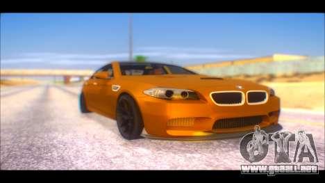 BMW M5 F10 2014 para GTA San Andreas
