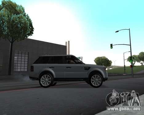 Range Rover Armenian para visión interna GTA San Andreas