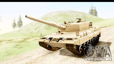 Leopard 2A4 para la visión correcta GTA San Andreas