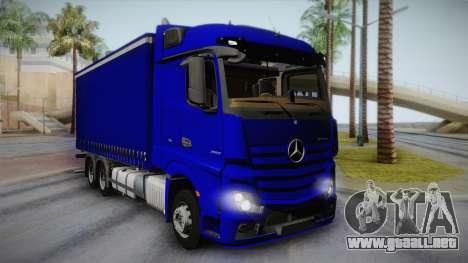 Mercedes-Benz Actros Mp4 v2.0 Tandem Steam para GTA San Andreas