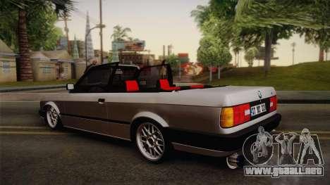 BMW M3 E30 1991 v2 para GTA San Andreas left
