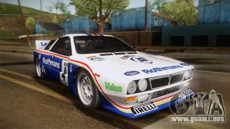 Lancia Rally 037 Stradale (SE037) 1982 Dirt PJ2 para la visión correcta GTA San Andreas