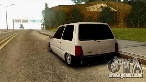 VAZ 1111 para GTA San Andreas vista posterior izquierda