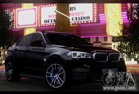 BMW X6M BULKIN SAMP EDITION para GTA San Andreas left