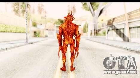 Marvel: Ultimate Alliance 2 - Ultimate Carnage para GTA San Andreas tercera pantalla