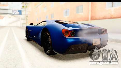 GTA 5 Vapid FMJ SA Style para la visión correcta GTA San Andreas