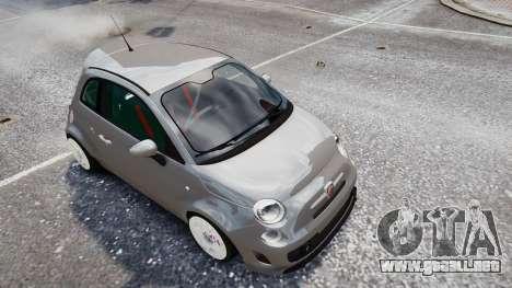 Fiat 500RB para GTA 4 visión correcta