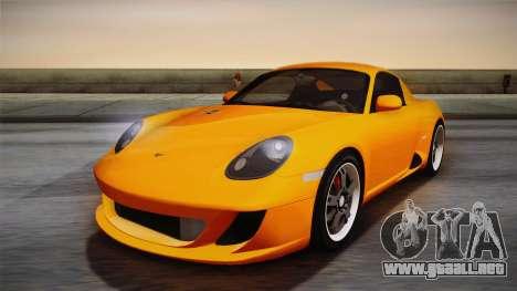 Ruf RK Coupe (987) 2007 IVF para GTA San Andreas