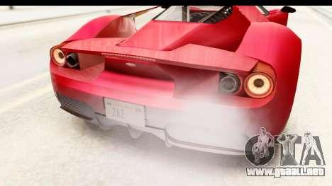 GTA 5 Vapid FMJ IVF para la vista superior GTA San Andreas