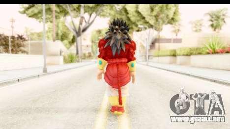 Dragon Ball Xenoverse Broly SSJ4 para GTA San Andreas tercera pantalla