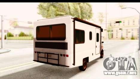 GTA 5 Camper para GTA San Andreas left