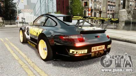 Porsche Rallye Vespas 911 GT3 RSR para GTA 4 left