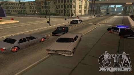 Cheetah Mod v1.1 para GTA San Andreas segunda pantalla