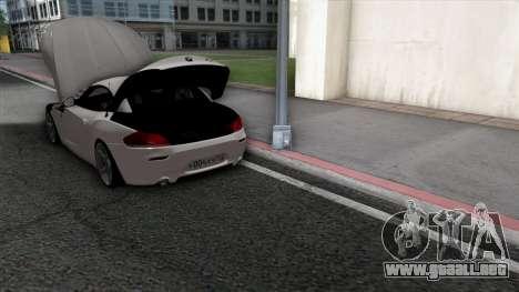 BMW Z4 para el motor de GTA San Andreas
