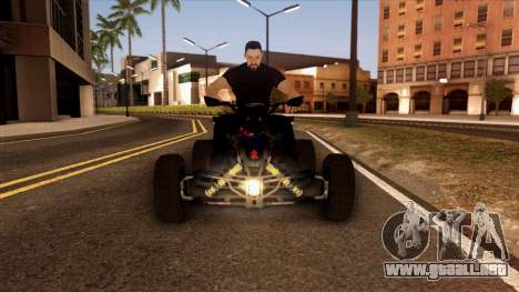 Quad Graphics Skull para vista lateral GTA San Andreas