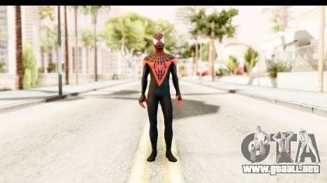 Marvel Heroes - Miles Morales para GTA San Andreas segunda pantalla