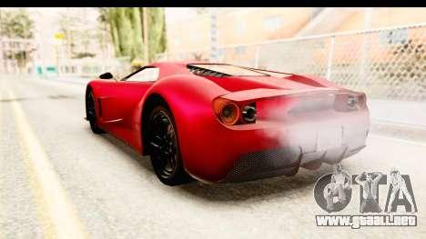 GTA 5 Vapid FMJ IVF para GTA San Andreas left