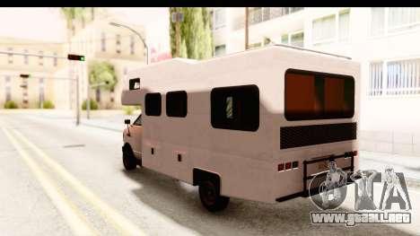 GTA 5 Camper para la visión correcta GTA San Andreas