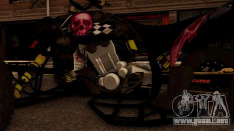Quad Graphics Skull para visión interna GTA San Andreas