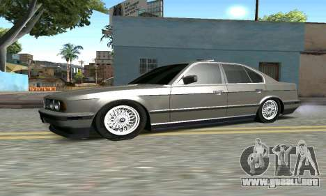 BMW 535 para GTA San Andreas left