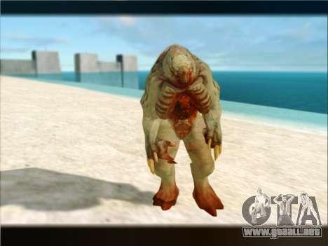 Berzerker from DOOM 3 para GTA San Andreas quinta pantalla