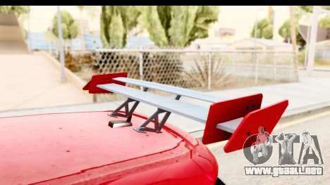 Volkswagen Golf GTI para vista lateral GTA San Andreas