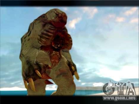 Berzerker from DOOM 3 para GTA San Andreas tercera pantalla
