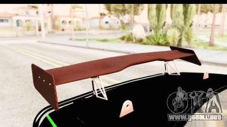 Dodge Challenger F&F 7 para vista lateral GTA San Andreas