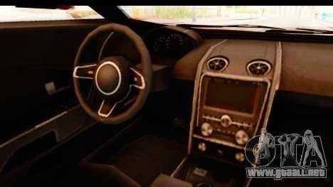 GTA 5 Vapid FMJ IVF para visión interna GTA San Andreas