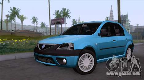 Dacia Logan Prestige 1.6L 16V para GTA San Andreas