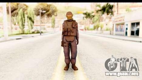 CS:GO - GIGN para GTA San Andreas segunda pantalla