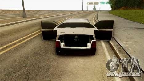 VAZ 1111 para vista lateral GTA San Andreas