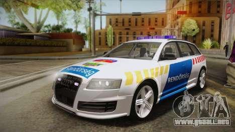 Audi RS6 Hungarian Police para GTA San Andreas