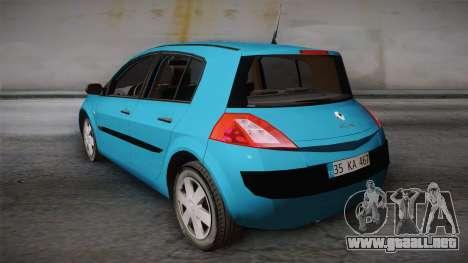 Renault Megane 2 Hatchback v2 para GTA San Andreas left