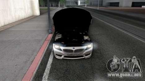 BMW Z4 para las ruedas de GTA San Andreas
